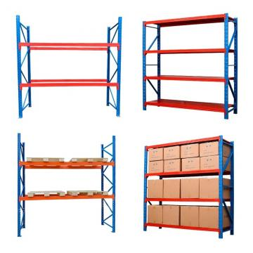 Heavy Duty Stacking Steel Pallet Racking / Adjustable Storage Solutions Metal Industrial Shelf