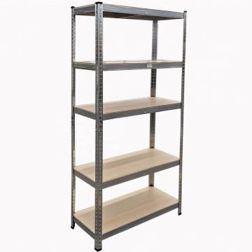 Supermarket Warehouse Cold Room Plastic Freestanding Shelving Unit with Steel Core