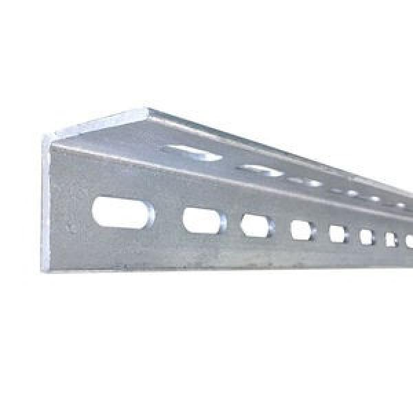 ASTM A36 A572 Gr60 Gr50 Perforated Galvanized Ms L Shaped Steel Bar Slotted Angle Bar #2 image