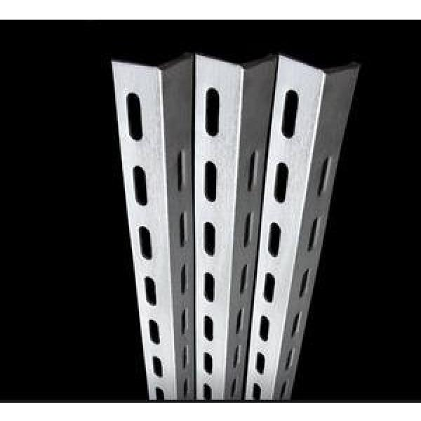 Perforated Holes Equal and Unequal Galvanized Powder Coated Slotted Angle Steel Bars #1 image