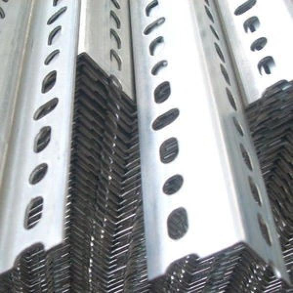 Perforated Holes Equal and Unequal Galvanized Powder Coated Slotted Angle Steel Bars #2 image